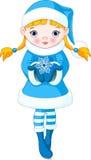 Девушка зимы Стоковая Фотография RF