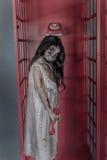 Девушка зомби Стоковые Фото