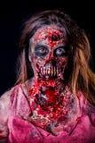 Девушка зомби Стоковое Изображение RF
