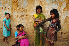 девушка Индия ребенка Стоковая Фотография