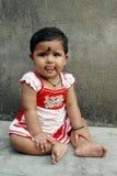 девушка Индия ребенка Стоковые Фото
