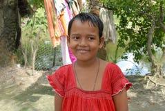 девушка Индия ребенка стоковые изображения