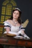 девушка историческая Стоковые Изображения