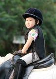 Девушка и лошадь Стоковое Фото