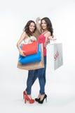 Девушка и покупка Стоковое фото RF