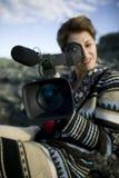 девушка камеры Стоковое Фото