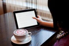 девушка кафа Стоковое фото RF