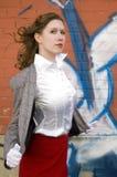 девушка классики 50s Стоковые Фотографии RF