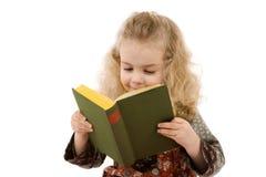девушка книги Стоковая Фотография RF