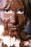 девушка конфеты Стоковые Изображения RF
