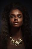 Девушка красотки способа шикарная женщина портрета Стильная стрижка Стоковые Фотографии RF