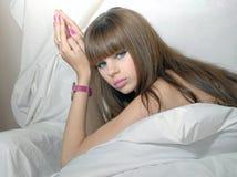 девушка красотки Стоковые Изображения RF