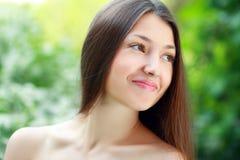 Девушка красоты весны Стоковые Изображения