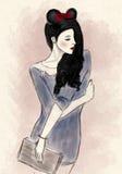Девушка красоты Стоковая Фотография RF