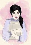 Девушка красоты Стоковые Фотографии RF