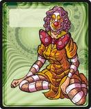 Девушка клоуна Бесплатная Иллюстрация