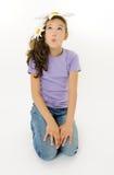 девушка маргаритки Стоковое фото RF
