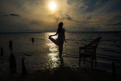 Девушка - матрос стоковая фотография