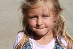 девушка меньший портрет Стоковое Изображение RF