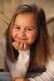 девушка меньший портрет Стоковые Фотографии RF
