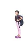 девушка меньшяя готовая школа Стоковое фото RF