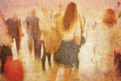 девушка мечты Стоковое Изображение