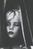 девушка младенца белокурая стоковая фотография rf