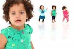 девушка младенца красивейшая стоковое изображение