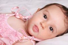 девушка младенца милая Стоковые Фотографии RF