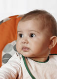 девушка младенца милая Стоковые Фото