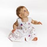 девушка младенца милая стоковое изображение rf
