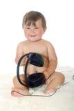 девушка младенца смешная немногая Стоковое фото RF