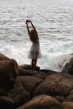 Девушка моря Стоковые Изображения