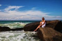 Девушка моря Стоковое Изображение