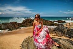 Девушка моря Стоковое Изображение RF