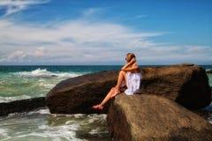Девушка моря Стоковые Фото