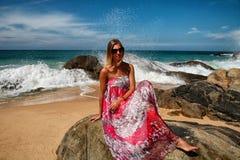 Девушка моря Стоковая Фотография RF