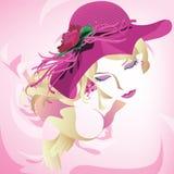 Девушка моды лета Стоковое Изображение RF