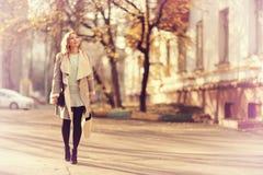 Девушка на прогулке Стоковое Фото