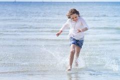 Девушка на свободном полете Стоковые Фото