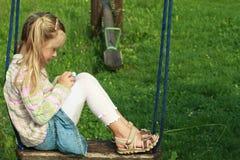 девушка немногая качание Стоковое Фото