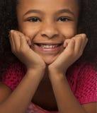 девушка немногая симпатичная милая усмешка Стоковое Фото