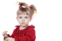 девушка немногая сь Стоковая Фотография RF