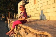 девушка немногая Стоковая Фотография