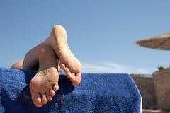 девушка ноги Стоковое Изображение