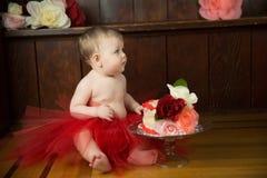 Девушка дня рождения Стоковое Фото