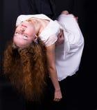 девушка обморочная Стоковое фото RF
