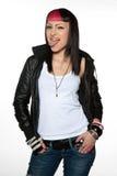 девушка ориентации предназначенная для подростков стоковое изображение