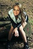 Девушка от Колумбии стоковое фото rf