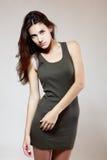 Девушка очарования моды Стоковое Изображение RF